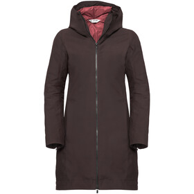 VAUDE Annecy III 3in1 Coat Women pecan brown